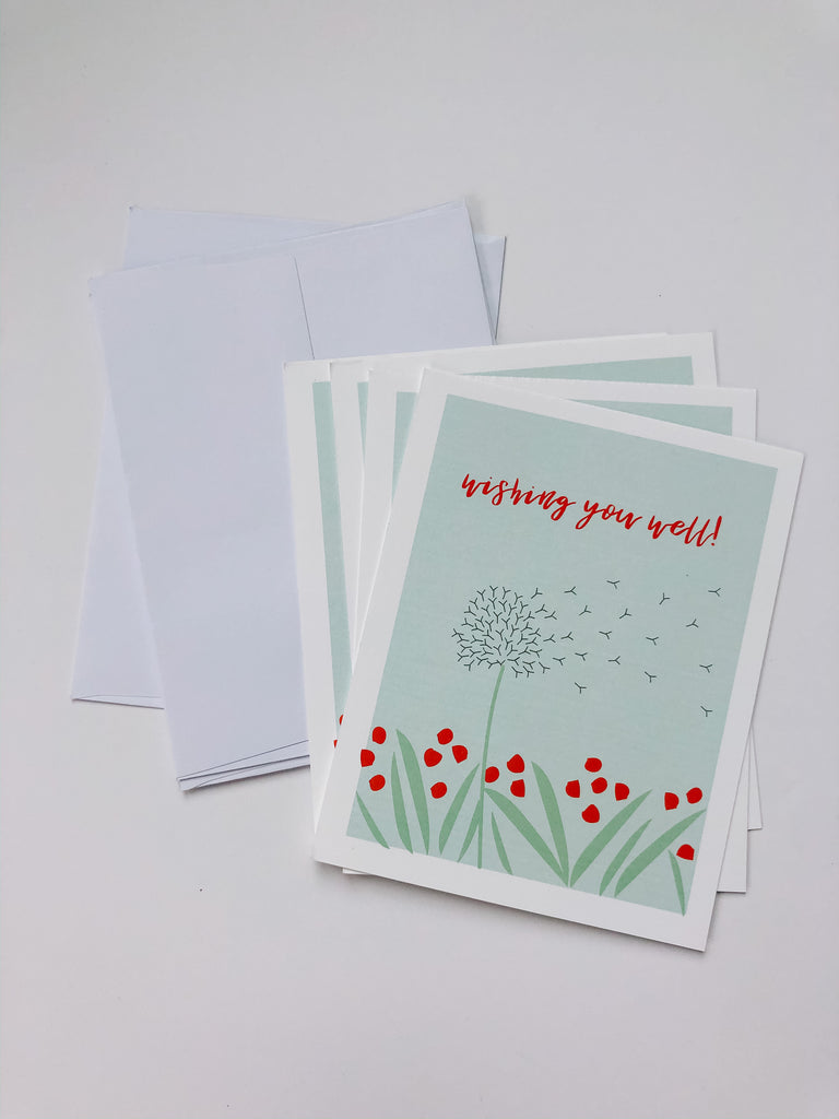 "Happiernotes ""Wishing You Well"" cards"