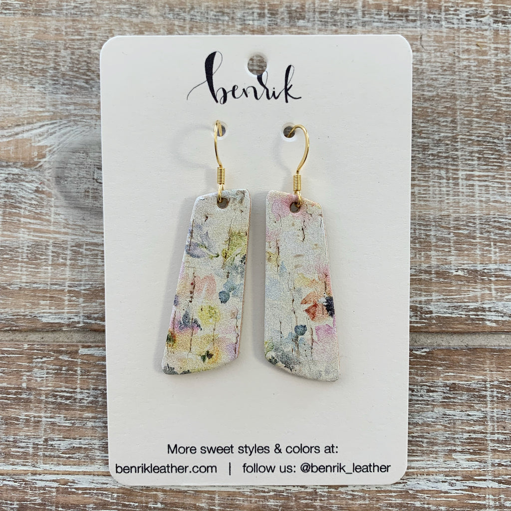 The Watercolor Dangle Earrings
