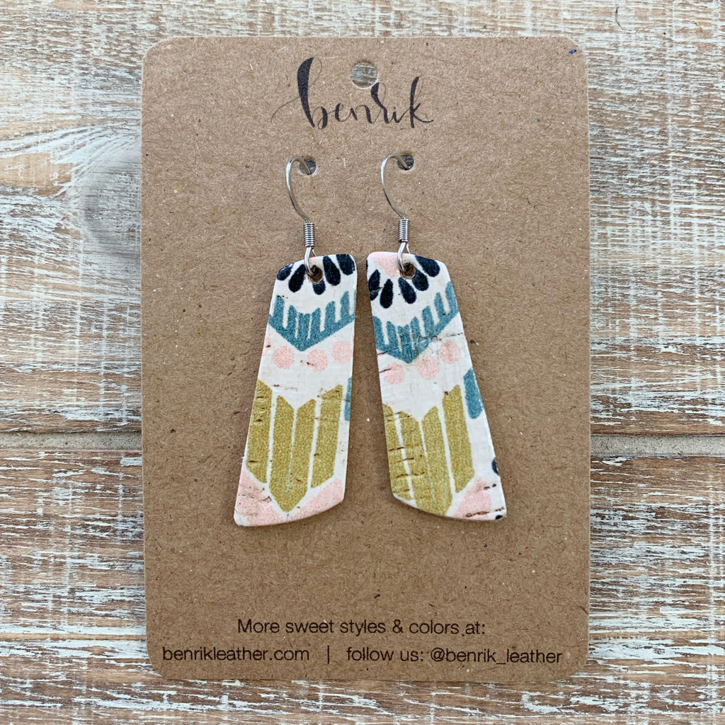 The Aztec Dangle Earrings