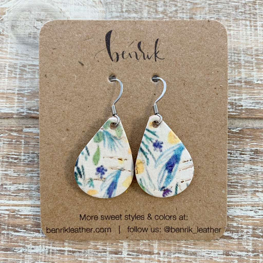 The Floral Bliss Mini Teardrop Earrings