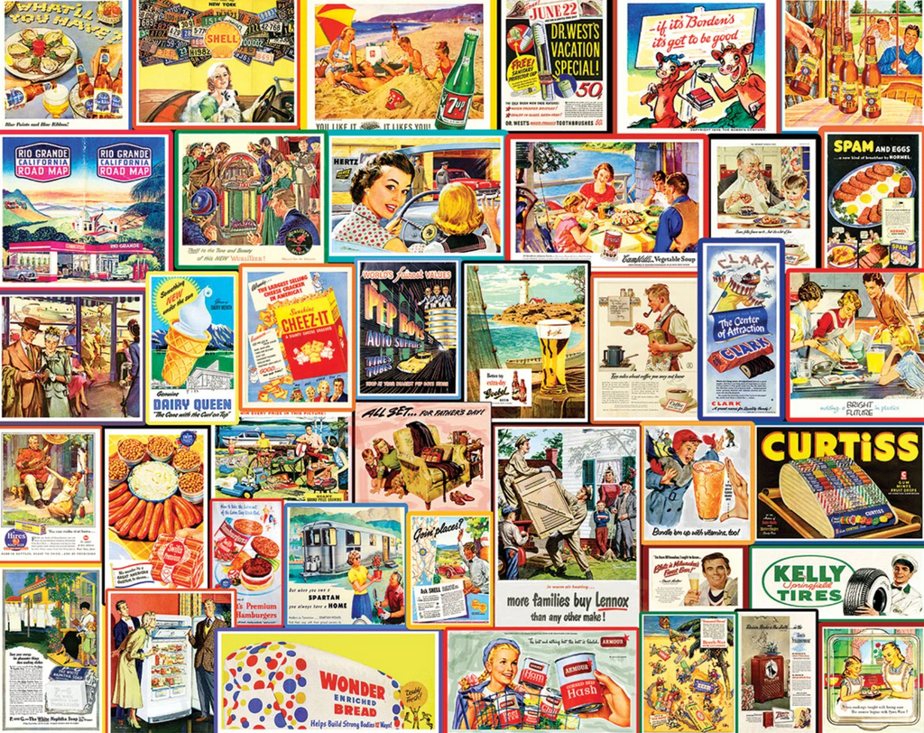 Great Old Ads puzzle 1000 piece