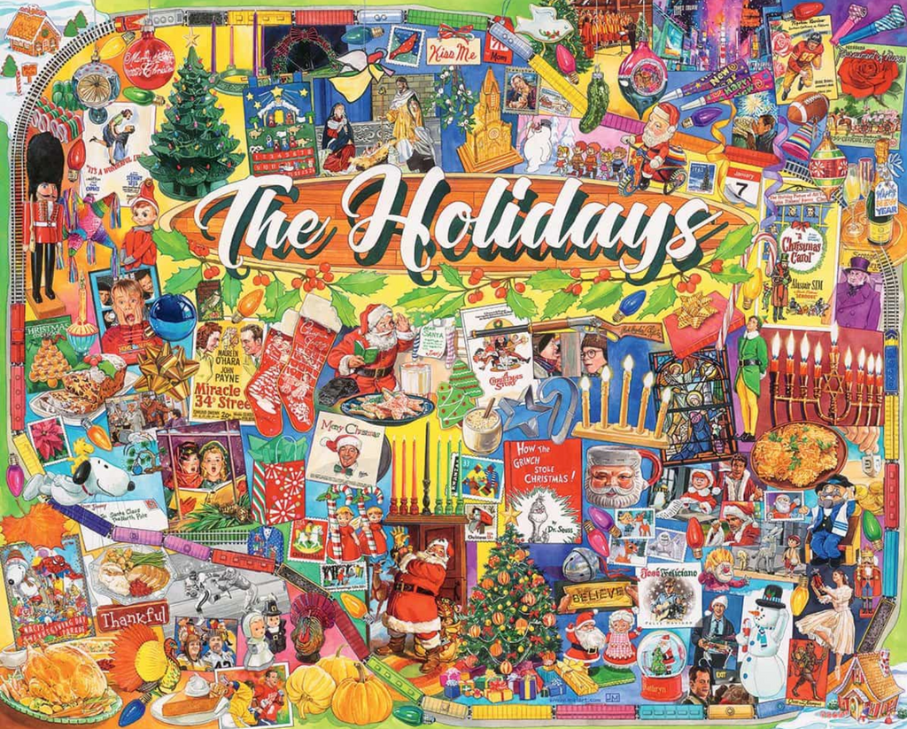The Holidays puzzle 1000 piece