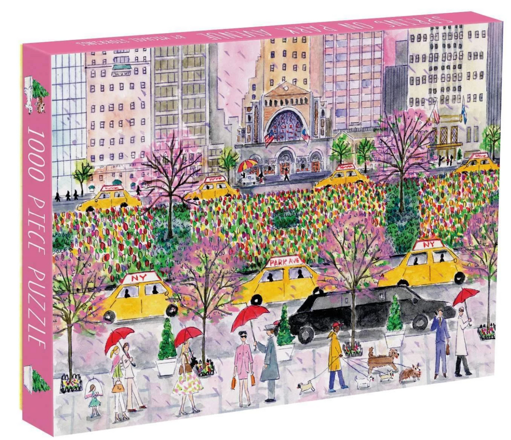 Spring on Park Avenue by Michael Storrings Puzzle 1000 piece