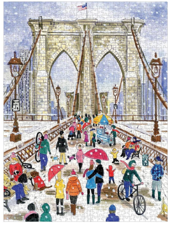 Brooklyn Bridge by Michael Storrings Puzzle 1000 piece