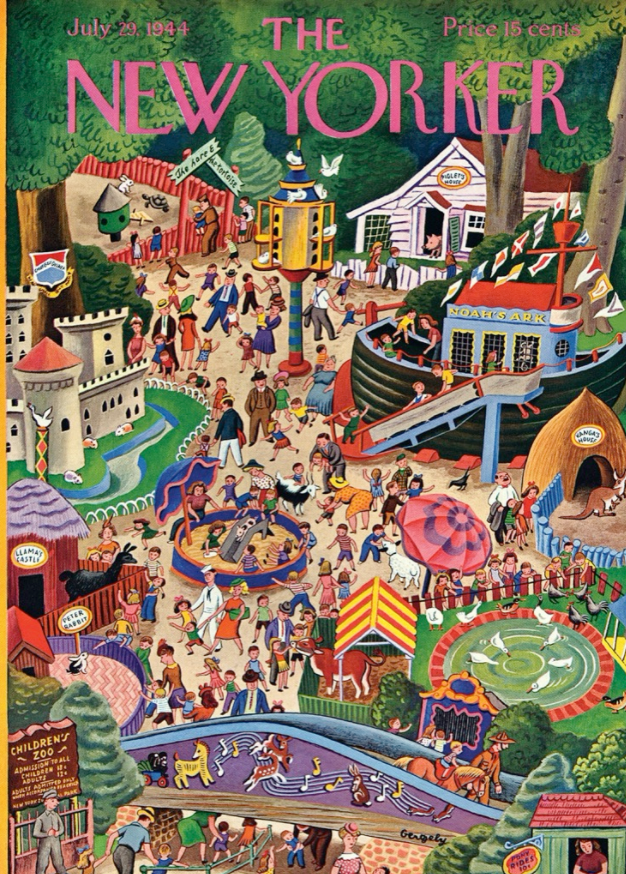 Main Street, New Yorker Magazine Cover Puzzle