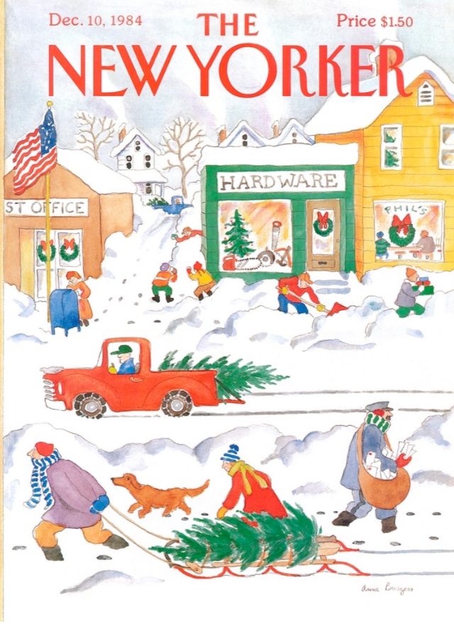 Snowy Day, New Yorker Magazine Cover Puzzle