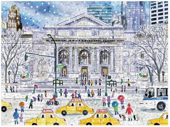 The New York Public Library puzzle 1000 piece