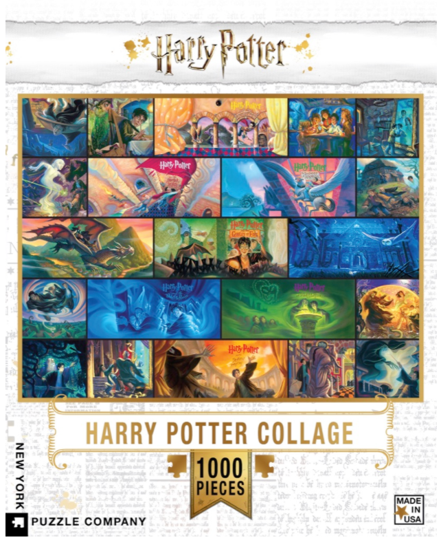 Harry Potter Collage 1000 Pieces