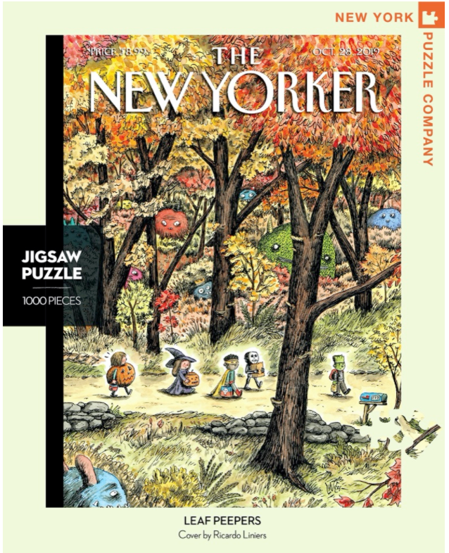 Leaf Peepers - New Yorker Magazine Cover Puzzle