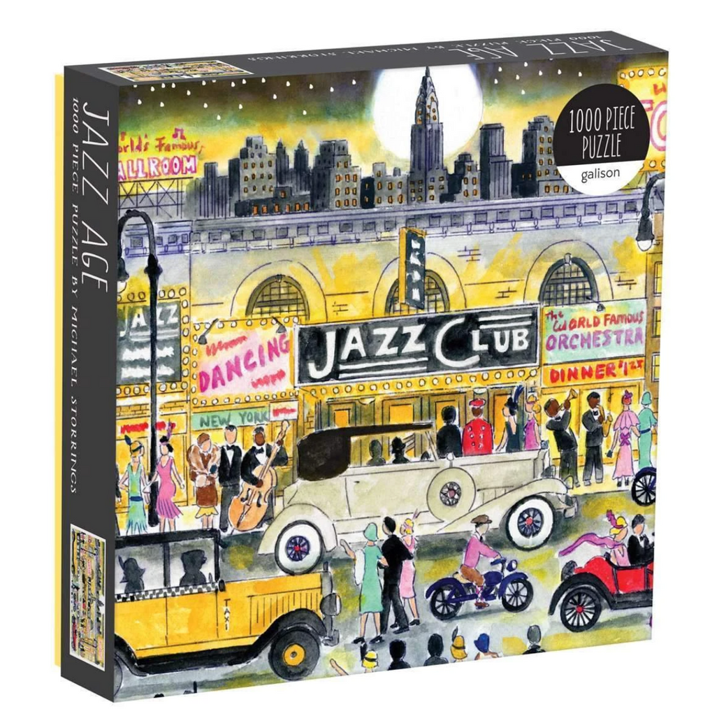 Michael Storrings Jazz Age 1000 Piece Jigsaw Puzzle