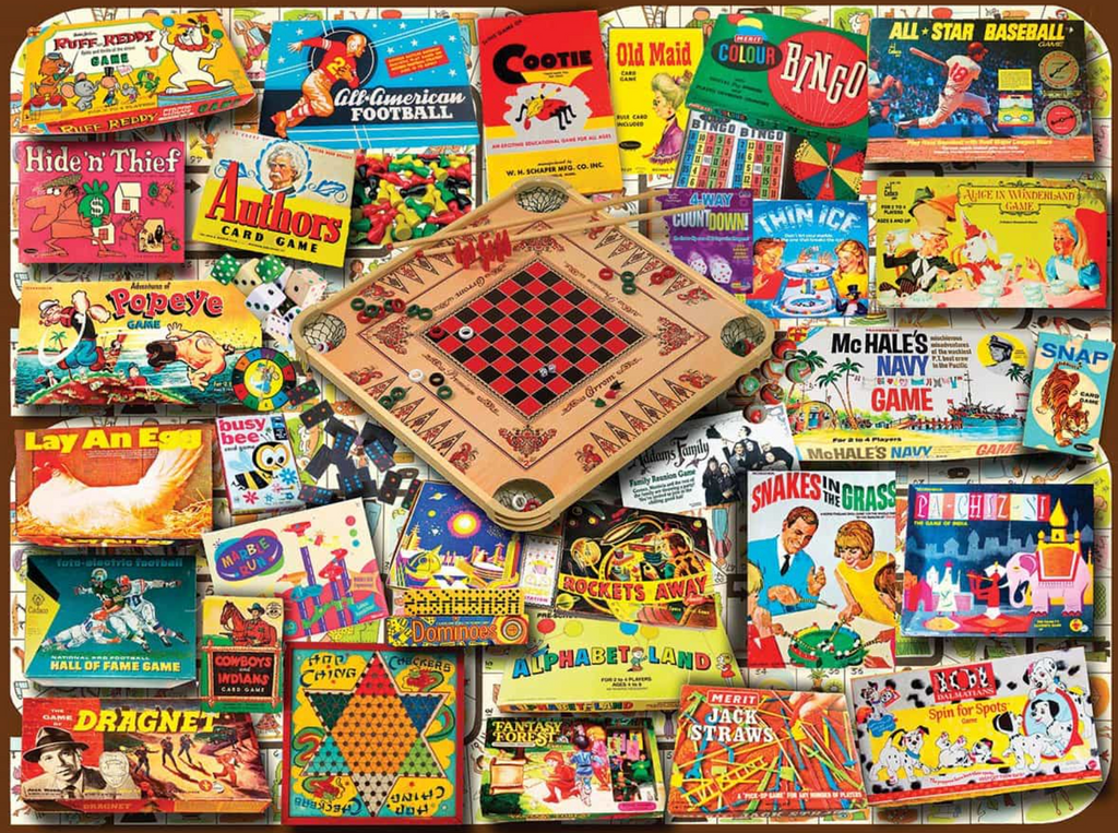 Classic Games 550 piece
