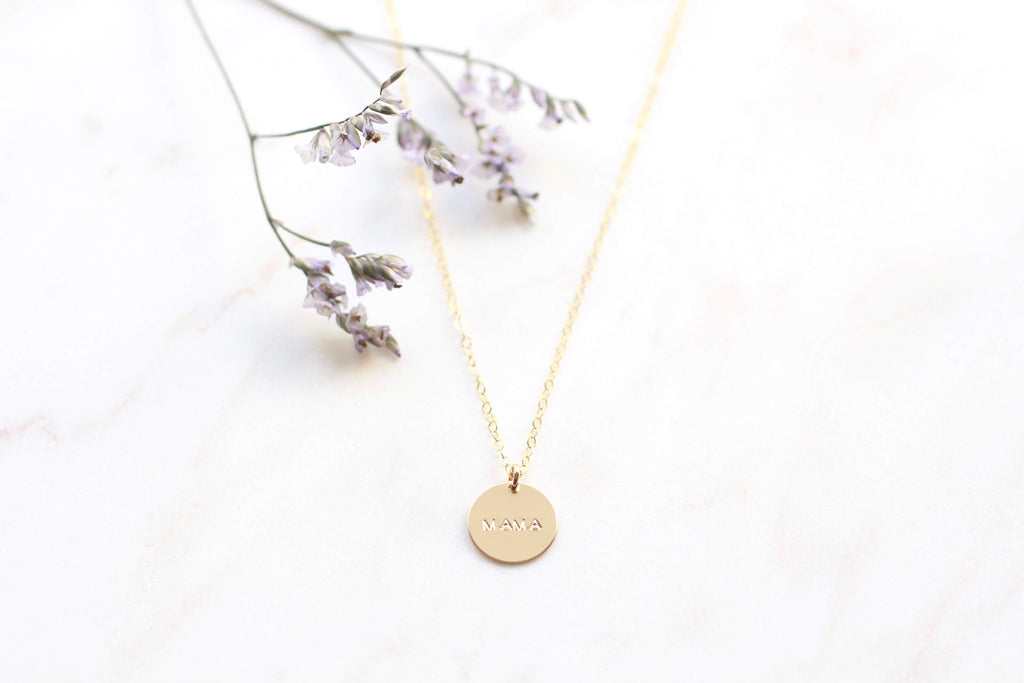 "Voulez Simple ""MAMA"" Necklace"