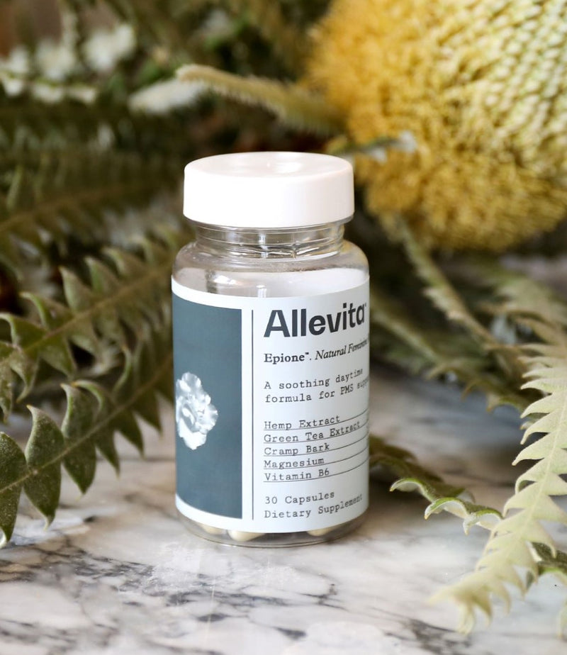 Allevita - Natural Supplements and Cooling Roll-On Gel for Period and Pain Relief