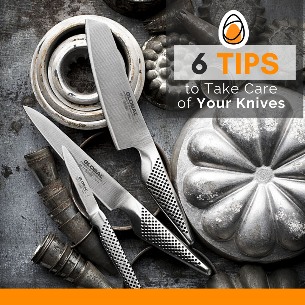 #kitchenFacts 6 Tips to Take Care of Your Knives