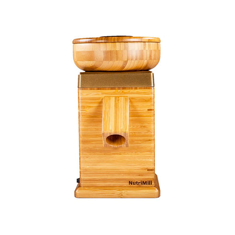 NutriMill Harvest Grain Mill - Gold Trim