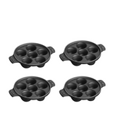 Staub Cast Iron Escargot Dish with 6 cavities, Matte Black