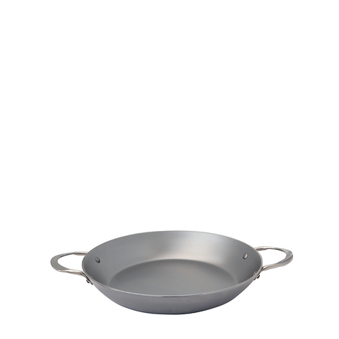 de Buyer Mineral B Element Steel Paella Pan, 12.5-in