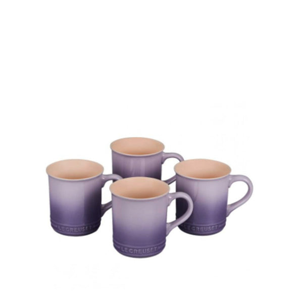 Le Creuset Stoneware Set of 4 Mugs, 14-oz, Provence - Kitchen Universe