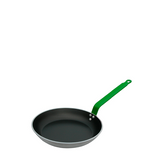 de Buyer Choc 5 Fry Pan w/ Aluminum Green Handle, 9.4-in