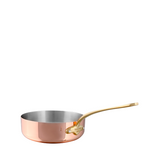 Mauviel M'heritage M150B2 Copper Saute Pan, 6.3-in