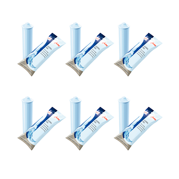 Jura Clearyl Blue Water Filter For Coffee Machines GIGA, Z7OT, J9OT, C5, F50, ENA Series, Set of 6