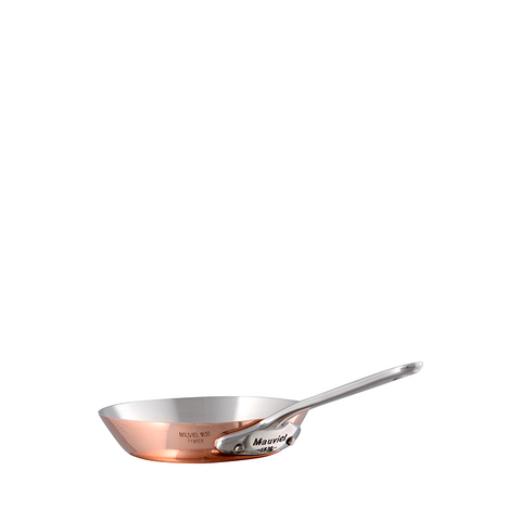 Mauviel M'mini Copper & Stainless Steel Round Frying Pan, 4.8-in