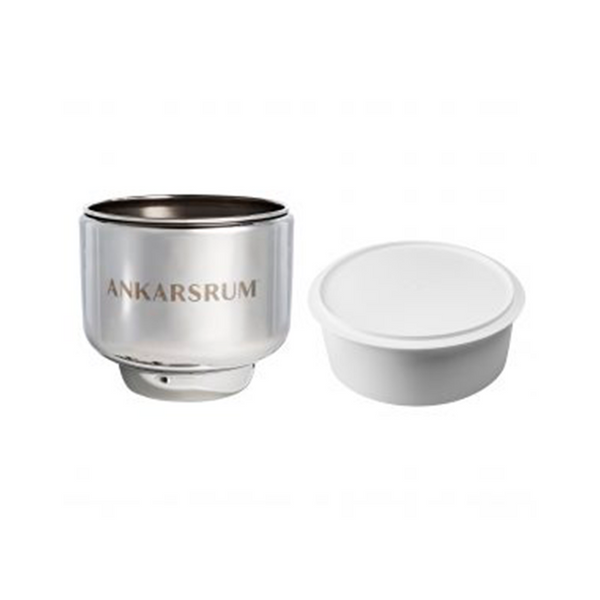 Ankarsrum Original Stainless Steel Bowl with Cover - Kitchen Universe