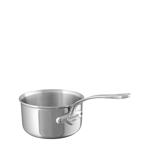 Mauviel M'cook Stainless Steel Saucepan, 2.7-qt