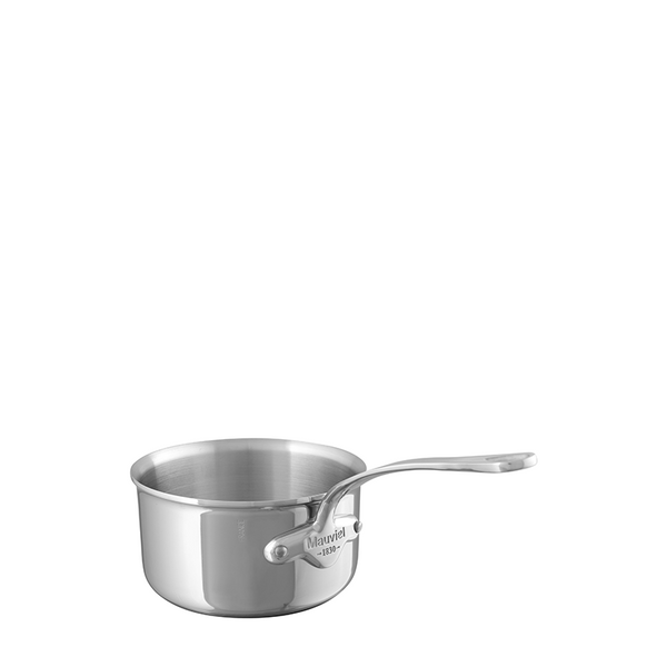 Mauviel M'Cook Stainless Steel Saucepan, 6.3-in