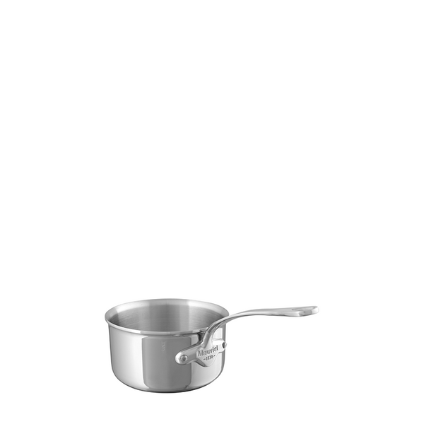 Mauviel M'cook Stainless Steel Saucepan, 1.2-qt