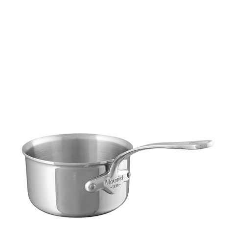 Mauviel M'cook Stainless Steel Saucepan, 3.4-qt