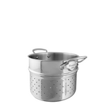 Mauviel M'cook Stainless Steel Pasta Insert, 6.3-qt
