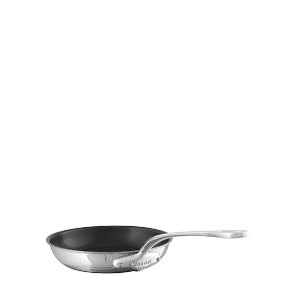 Mauviel M'cook Stainless Steel Round Frying Pan (Non Stick Interior)