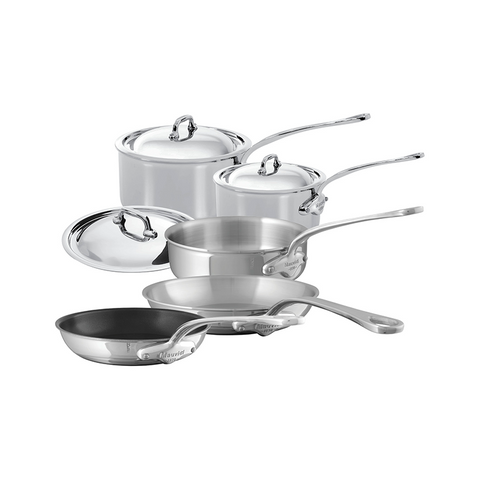 Mauviel M'Cook Stainless Steel 8-piece Set