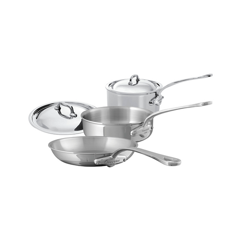 Mauviel M'cook Stainless Steel 5-piece Set