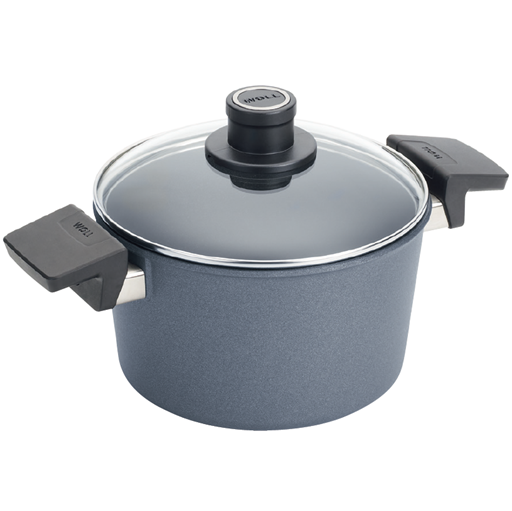 Woll Diamond Lite Stockpot with Lid, 5.25 qt, 9.5-in - Kitchen Universe