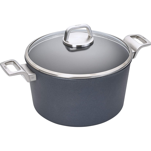 Woll Diamond Lite Pro Induction Stockpot with Lid, 5.25 qt, 9.5-in