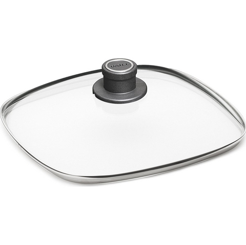 Woll Diamond Lite Square Tempered Glass Lid, 11-in