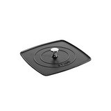Staub Cast Iron Square Grill Press 10.3-in, Matte Black - Kitchen Universe