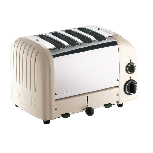 Dualit 4 Slice NewGen Toaster, Clean & Calm