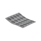 de Buyer Elastomule Silicone Canelé Mold, 6 Cavities