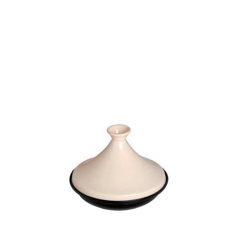 Staub Cast Iron Tajine 1.5 qt, Cream - Kitchen Universe