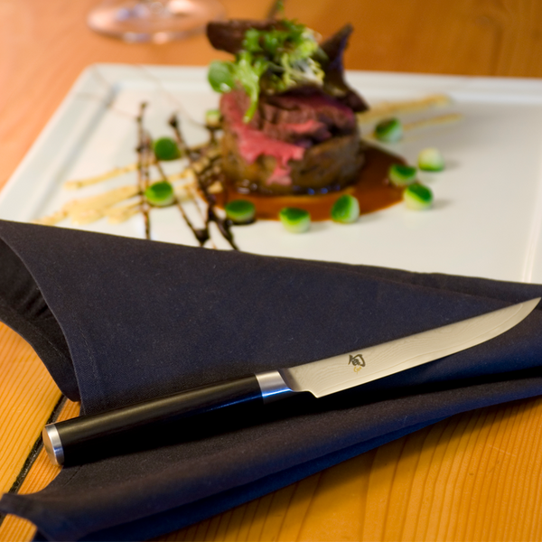 Shun Classic 4-Piece Steak Knife Set