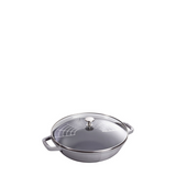 Staub Cast Iron Pan Perfect, 4.5 qt, Graphite Grey - Kitchen Universe