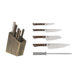 Shun Kanso 6-Piece Block Knife Set