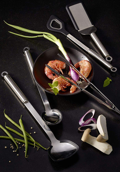 Rosle Wok Turner with Silicone Edge - Kitchen Universe
