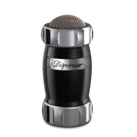 Marcato Dispenser Flour, Sugar & Cocoa Sifter, Black