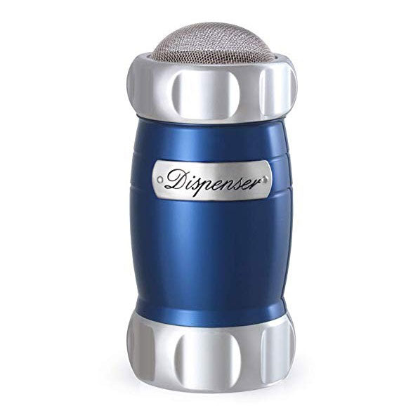 Marcato Dispenser Flour, Sugar & Cocoa Sifter, Blue