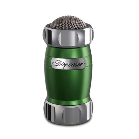 Marcato Dispenser Flour, Sugar & Cocoa Sifter, Green