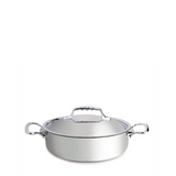 de Buyer Affinity Stainless Steel Casserole Pan w/Lid, 3.17-qt